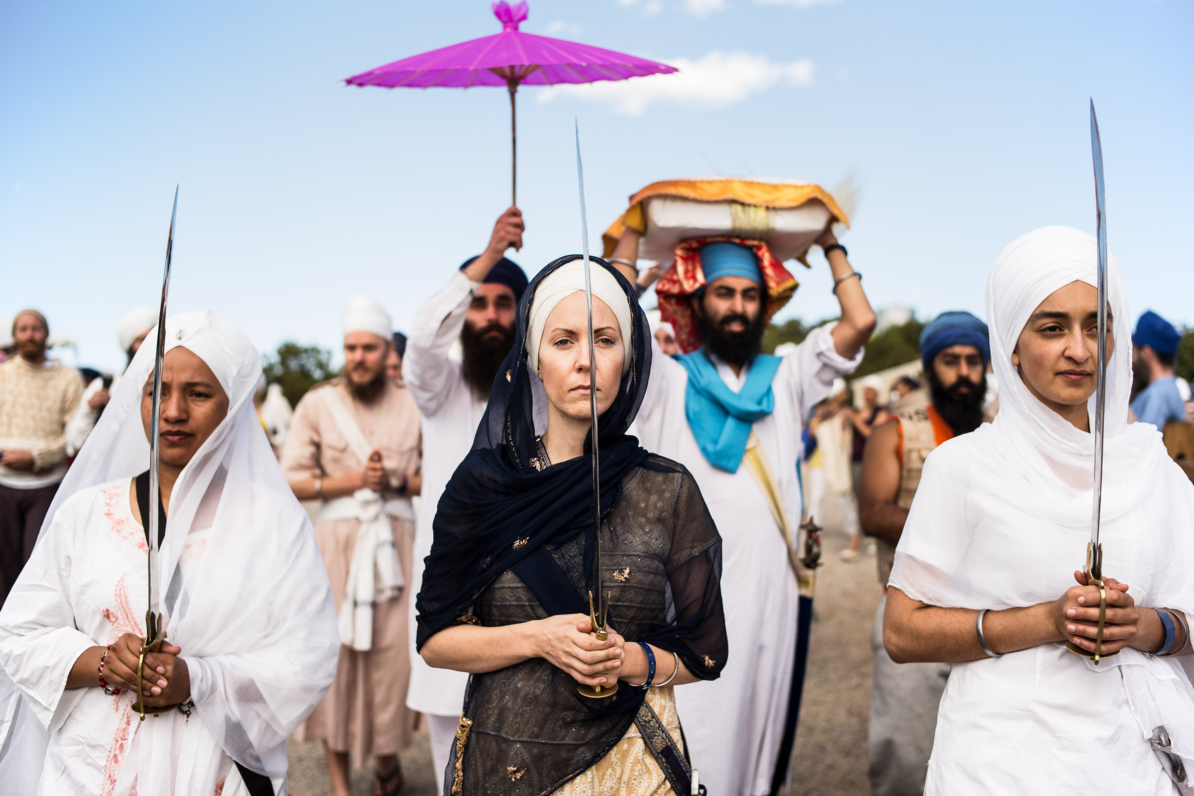 Nagar Kirtan, New Mexico, United States, 2014.